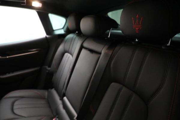 New 2021 Maserati Levante GTS for sale $138,385 at Alfa Romeo of Greenwich in Greenwich CT 06830 18