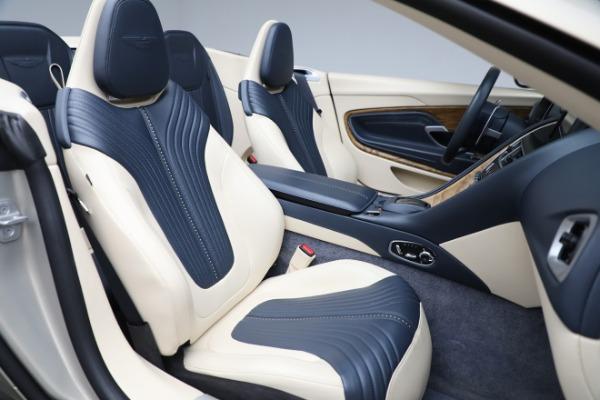 Used 2019 Aston Martin DB11 Volante for sale $209,900 at Alfa Romeo of Greenwich in Greenwich CT 06830 23