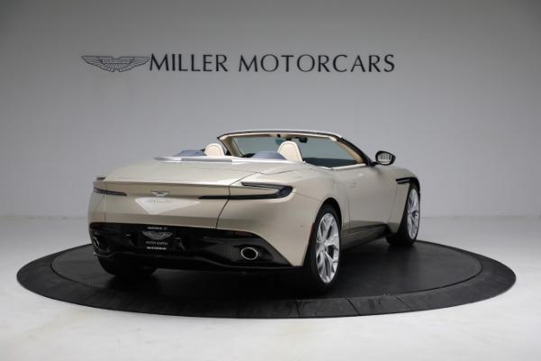 Used 2019 Aston Martin DB11 Volante for sale $209,900 at Alfa Romeo of Greenwich in Greenwich CT 06830 6