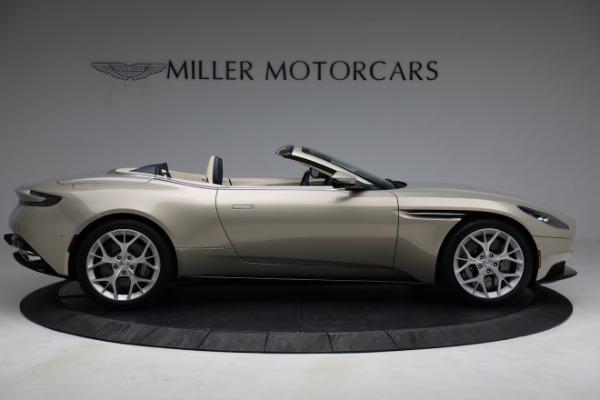 Used 2019 Aston Martin DB11 Volante for sale $209,900 at Alfa Romeo of Greenwich in Greenwich CT 06830 8
