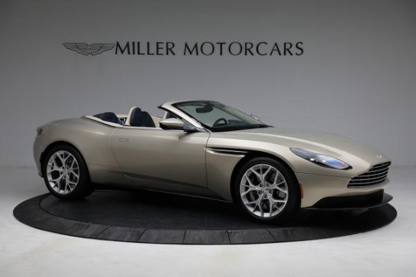 Used 2019 Aston Martin DB11 Volante for sale $209,900 at Alfa Romeo of Greenwich in Greenwich CT 06830 9