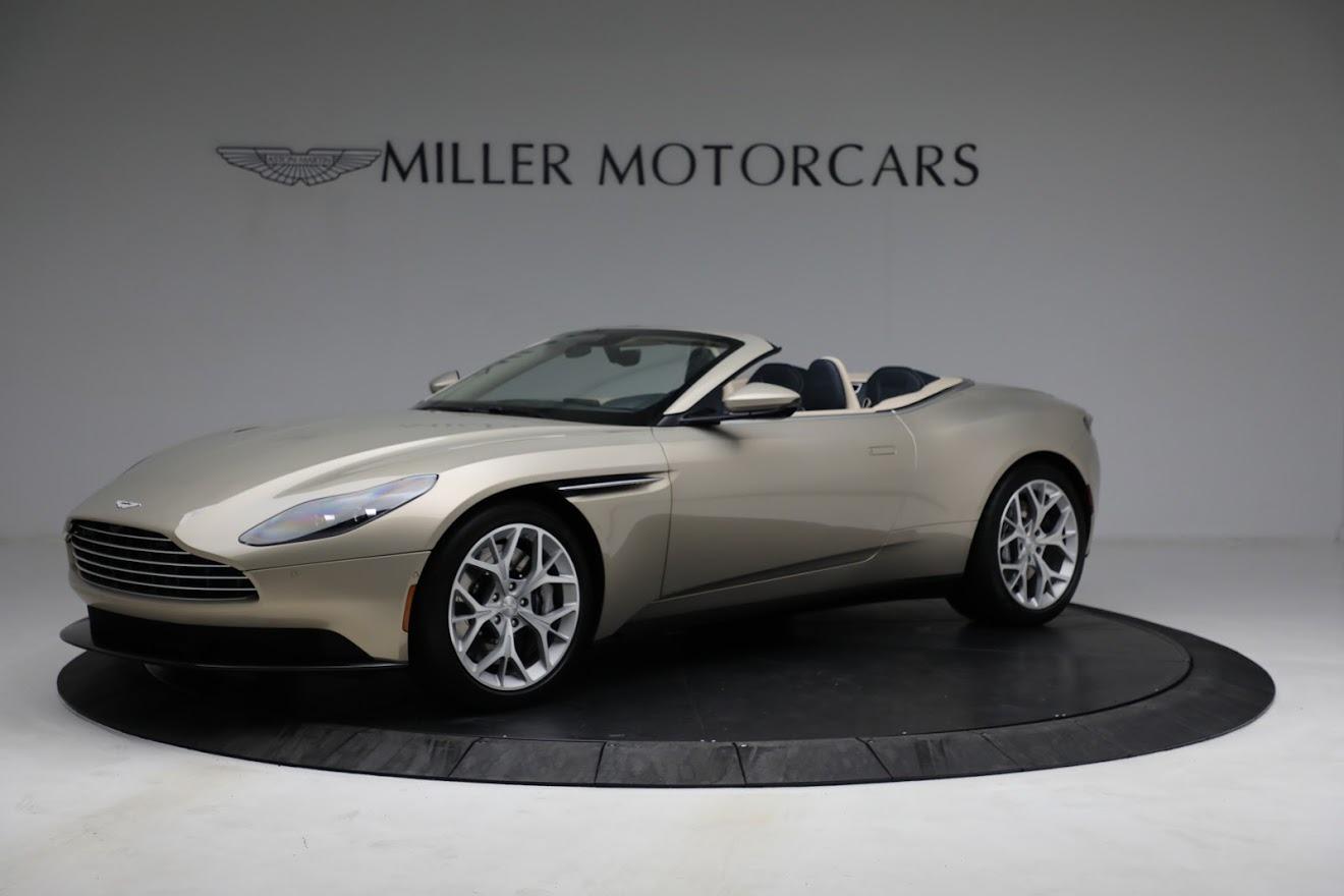 Used 2019 Aston Martin DB11 Volante for sale $209,900 at Alfa Romeo of Greenwich in Greenwich CT 06830 1