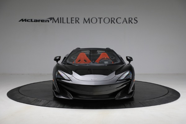 Used 2020 McLaren 600LT Spider for sale Call for price at Alfa Romeo of Greenwich in Greenwich CT 06830 12