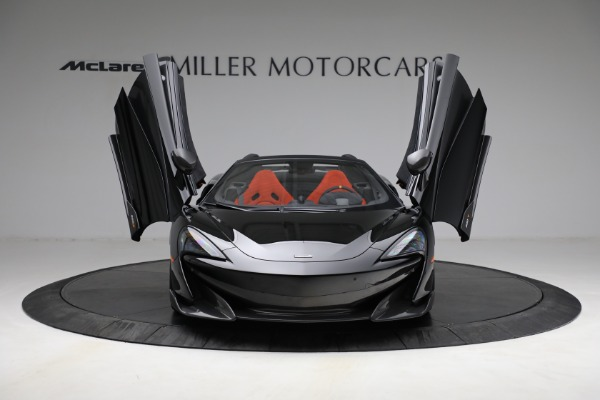 Used 2020 McLaren 600LT Spider for sale Call for price at Alfa Romeo of Greenwich in Greenwich CT 06830 13