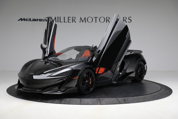 Used 2020 McLaren 600LT Spider for sale Call for price at Alfa Romeo of Greenwich in Greenwich CT 06830 14