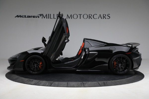 Used 2020 McLaren 600LT Spider for sale Call for price at Alfa Romeo of Greenwich in Greenwich CT 06830 15
