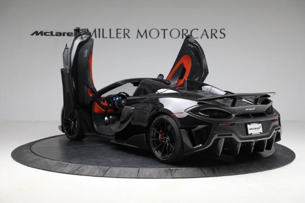 Used 2020 McLaren 600LT Spider for sale Call for price at Alfa Romeo of Greenwich in Greenwich CT 06830 16