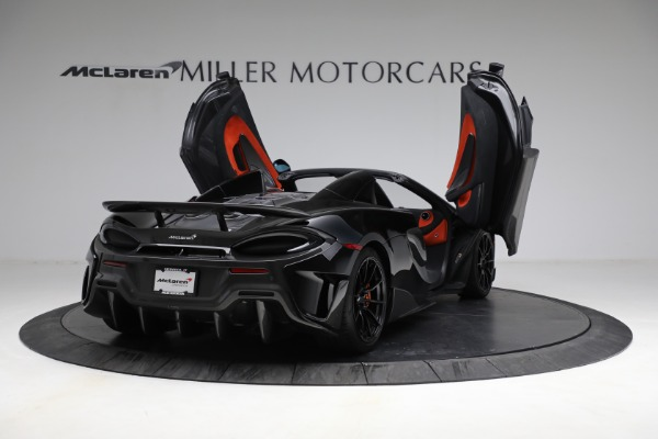 Used 2020 McLaren 600LT Spider for sale Call for price at Alfa Romeo of Greenwich in Greenwich CT 06830 17