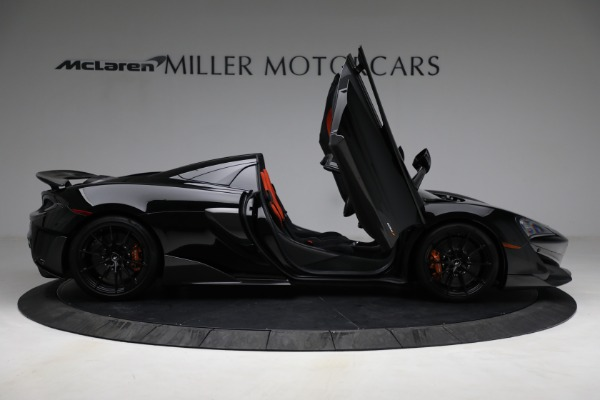 Used 2020 McLaren 600LT Spider for sale Call for price at Alfa Romeo of Greenwich in Greenwich CT 06830 18