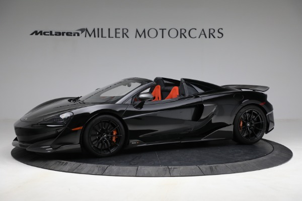Used 2020 McLaren 600LT Spider for sale Call for price at Alfa Romeo of Greenwich in Greenwich CT 06830 2