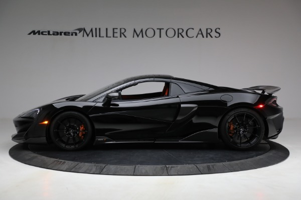 Used 2020 McLaren 600LT Spider for sale Call for price at Alfa Romeo of Greenwich in Greenwich CT 06830 21