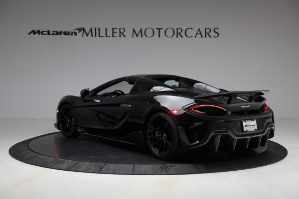 Used 2020 McLaren 600LT Spider for sale Call for price at Alfa Romeo of Greenwich in Greenwich CT 06830 22