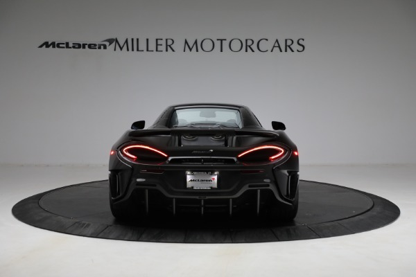Used 2020 McLaren 600LT Spider for sale Call for price at Alfa Romeo of Greenwich in Greenwich CT 06830 23