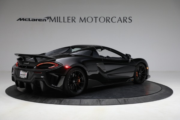Used 2020 McLaren 600LT Spider for sale Call for price at Alfa Romeo of Greenwich in Greenwich CT 06830 24