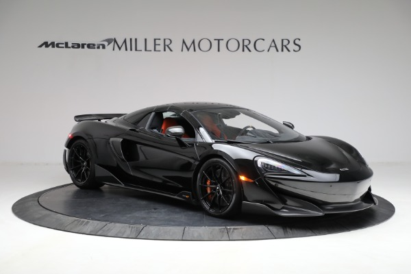 Used 2020 McLaren 600LT Spider for sale Call for price at Alfa Romeo of Greenwich in Greenwich CT 06830 26