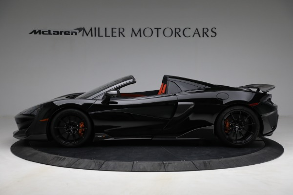 Used 2020 McLaren 600LT Spider for sale Call for price at Alfa Romeo of Greenwich in Greenwich CT 06830 3