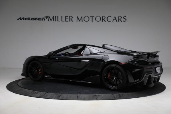 Used 2020 McLaren 600LT Spider for sale Call for price at Alfa Romeo of Greenwich in Greenwich CT 06830 4