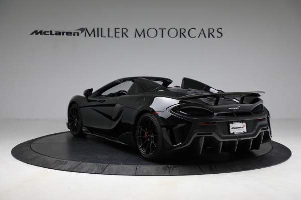 Used 2020 McLaren 600LT Spider for sale Call for price at Alfa Romeo of Greenwich in Greenwich CT 06830 5