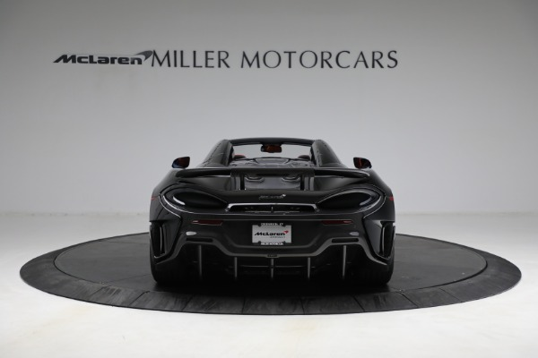 Used 2020 McLaren 600LT Spider for sale Call for price at Alfa Romeo of Greenwich in Greenwich CT 06830 6