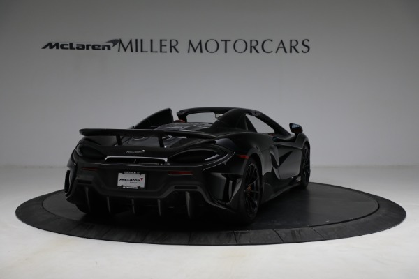 Used 2020 McLaren 600LT Spider for sale Call for price at Alfa Romeo of Greenwich in Greenwich CT 06830 7