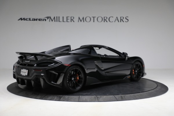 Used 2020 McLaren 600LT Spider for sale Call for price at Alfa Romeo of Greenwich in Greenwich CT 06830 8