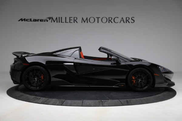 Used 2020 McLaren 600LT Spider for sale Call for price at Alfa Romeo of Greenwich in Greenwich CT 06830 9