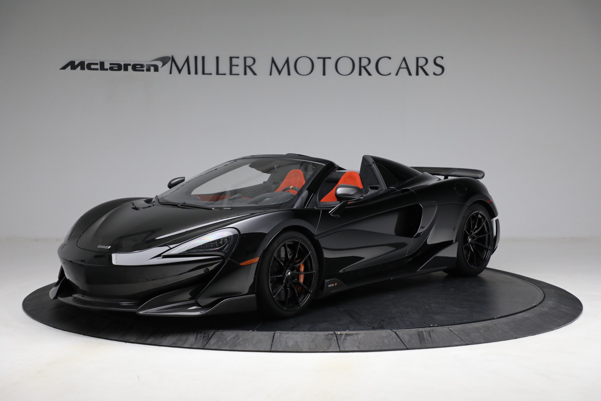 Used 2020 McLaren 600LT Spider for sale Call for price at Alfa Romeo of Greenwich in Greenwich CT 06830 1