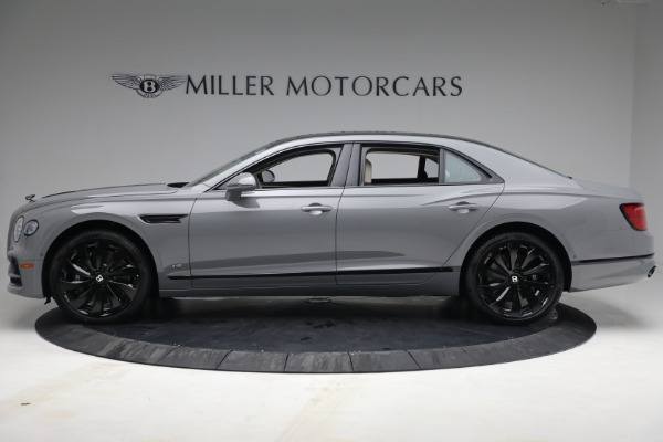 New 2022 Bentley Flying Spur Flying Spur V8 for sale Call for price at Alfa Romeo of Greenwich in Greenwich CT 06830 3