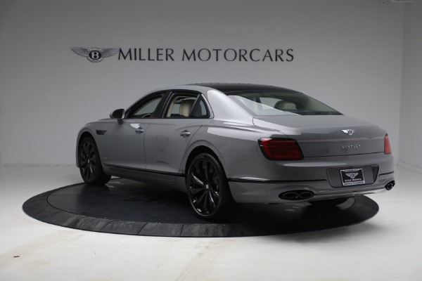 New 2022 Bentley Flying Spur Flying Spur V8 for sale Call for price at Alfa Romeo of Greenwich in Greenwich CT 06830 5