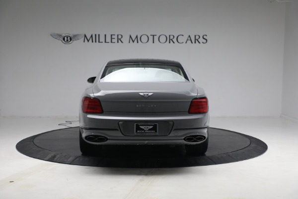 New 2022 Bentley Flying Spur Flying Spur V8 for sale Call for price at Alfa Romeo of Greenwich in Greenwich CT 06830 6