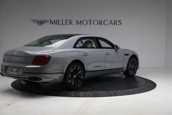 New 2022 Bentley Flying Spur Flying Spur V8 for sale Call for price at Alfa Romeo of Greenwich in Greenwich CT 06830 8