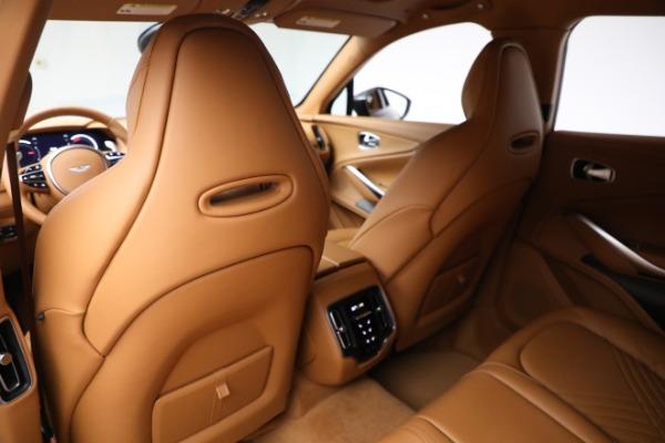 New 2021 Aston Martin DBX for sale $203,886 at Alfa Romeo of Greenwich in Greenwich CT 06830 16