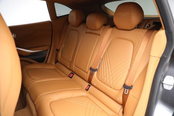 New 2021 Aston Martin DBX for sale $203,886 at Alfa Romeo of Greenwich in Greenwich CT 06830 17