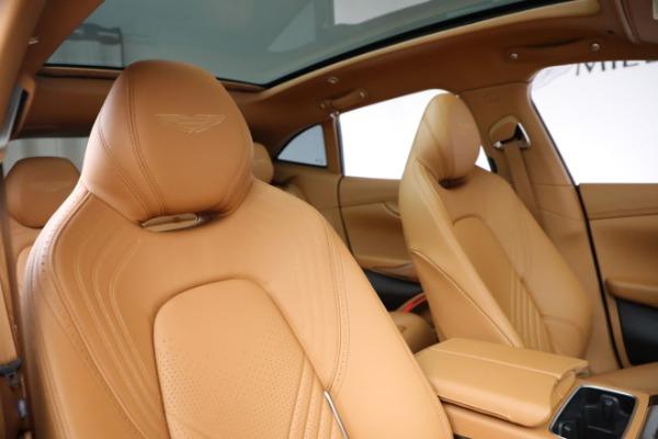 New 2021 Aston Martin DBX for sale $203,886 at Alfa Romeo of Greenwich in Greenwich CT 06830 18