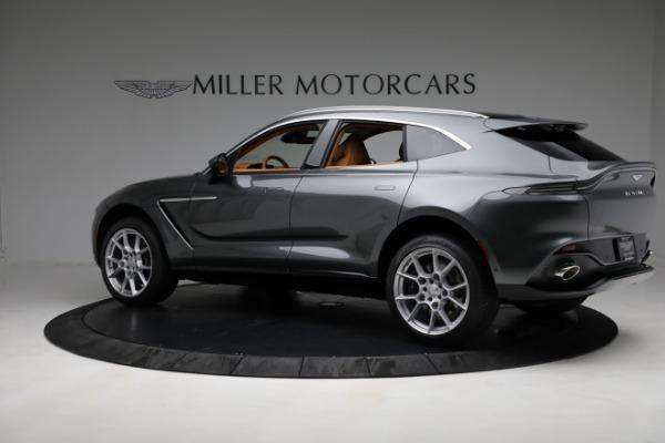 New 2021 Aston Martin DBX for sale $203,886 at Alfa Romeo of Greenwich in Greenwich CT 06830 3