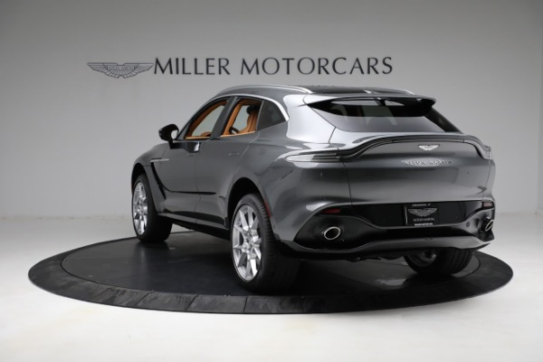 New 2021 Aston Martin DBX for sale $203,886 at Alfa Romeo of Greenwich in Greenwich CT 06830 4