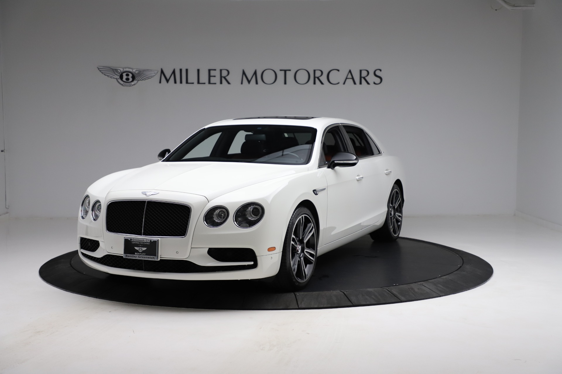 New 2017 Bentley Flying Spur V8 S for sale Sold at Alfa Romeo of Greenwich in Greenwich CT 06830 1