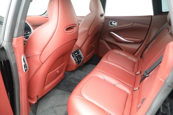 New 2021 Aston Martin DBX for sale $200,686 at Alfa Romeo of Greenwich in Greenwich CT 06830 17