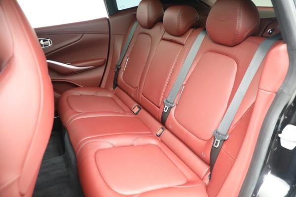 New 2021 Aston Martin DBX for sale $200,686 at Alfa Romeo of Greenwich in Greenwich CT 06830 18