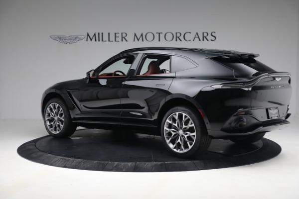 New 2021 Aston Martin DBX for sale $200,686 at Alfa Romeo of Greenwich in Greenwich CT 06830 3