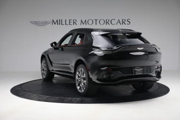 New 2021 Aston Martin DBX for sale $200,686 at Alfa Romeo of Greenwich in Greenwich CT 06830 4