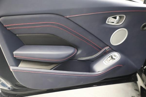 New 2021 Aston Martin Vantage for sale $189,686 at Alfa Romeo of Greenwich in Greenwich CT 06830 17