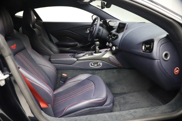 New 2021 Aston Martin Vantage for sale $189,686 at Alfa Romeo of Greenwich in Greenwich CT 06830 20