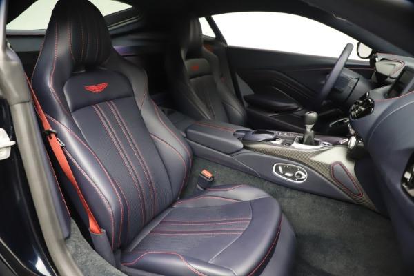 New 2021 Aston Martin Vantage for sale $189,686 at Alfa Romeo of Greenwich in Greenwich CT 06830 21