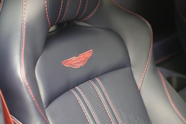New 2021 Aston Martin Vantage for sale $189,686 at Alfa Romeo of Greenwich in Greenwich CT 06830 22