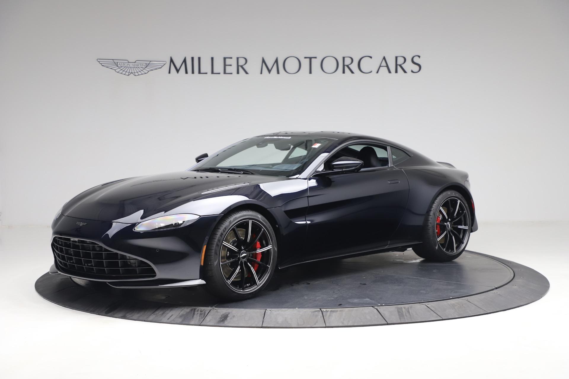 New 2021 Aston Martin Vantage for sale $189,686 at Alfa Romeo of Greenwich in Greenwich CT 06830 1
