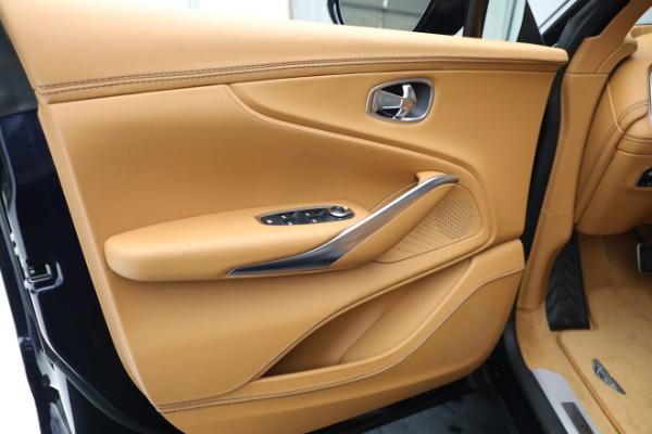 New 2021 Aston Martin DBX for sale $209,586 at Alfa Romeo of Greenwich in Greenwich CT 06830 16