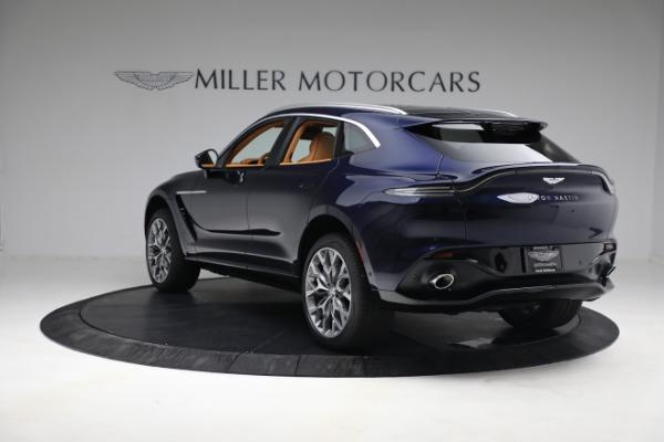 New 2021 Aston Martin DBX for sale $209,586 at Alfa Romeo of Greenwich in Greenwich CT 06830 4