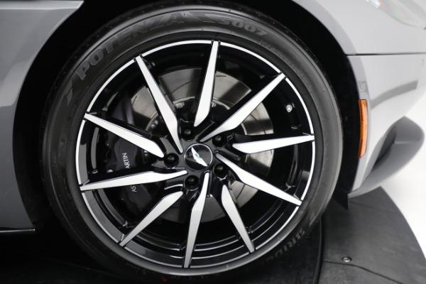 New 2021 Aston Martin DB11 V8 for sale $235,986 at Alfa Romeo of Greenwich in Greenwich CT 06830 24