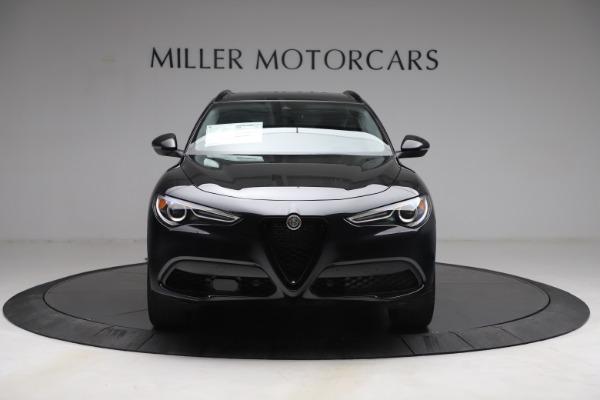 New 2021 Alfa Romeo Stelvio Ti for sale $51,955 at Alfa Romeo of Greenwich in Greenwich CT 06830 12